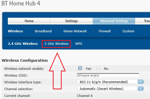 Bt Home Hub  How To Connect To Ghz