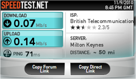 how to detect issue with your internet speed