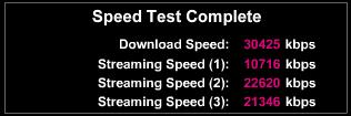 HH3 connection speed
