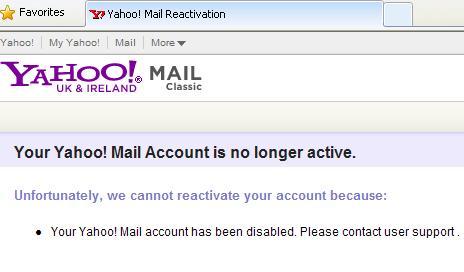 Ireland and login yahoo mail uk Yahoo ahora