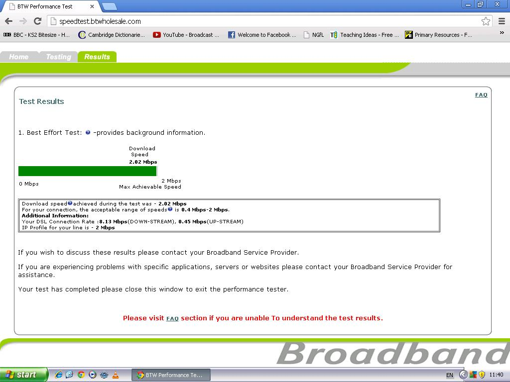 Very Slow Broadband Download Speed on 2MB used to     - BT Community