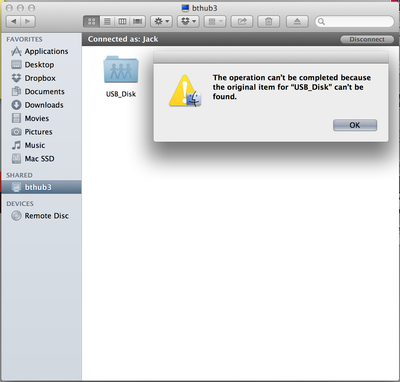 the operation can't be completed because the disk is full. mac