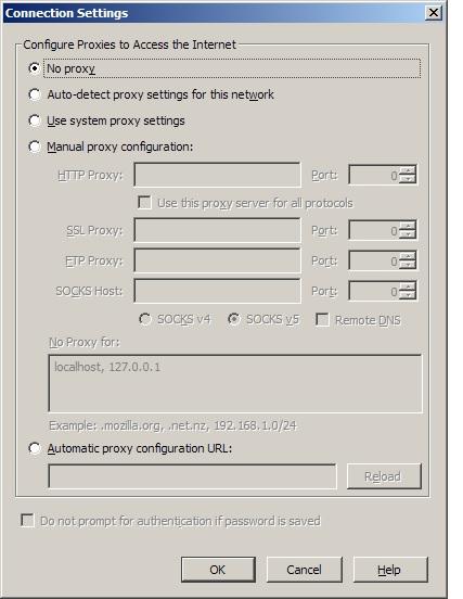 no proxy server windows 10