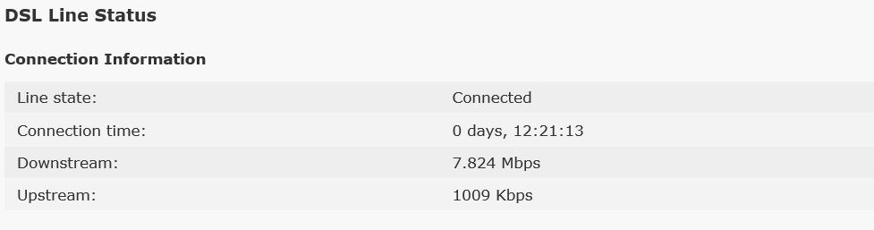 DSL Connection speed.JPG