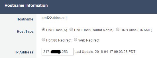Solved: No-IP com and HomeHub5 DDNS not working - BT Community