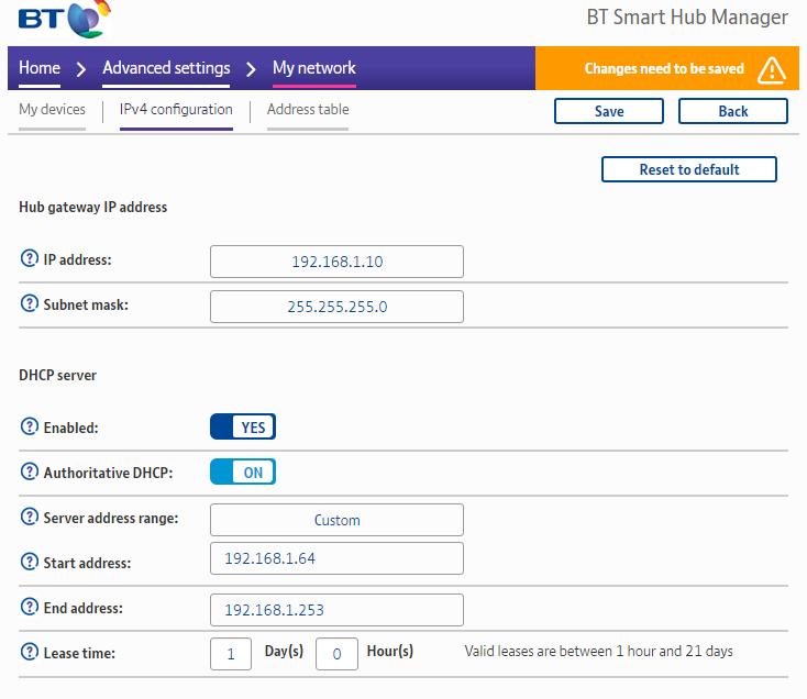 Solved: BTHub6 (Smart Hub) As WiFi Extender or AP (Access