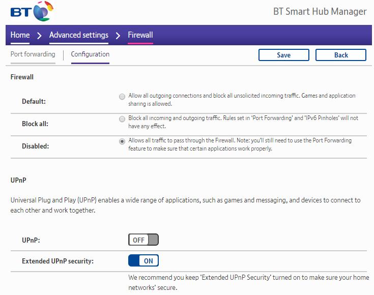 Solved: BTHub6 (Smart Hub) As WiFi Extender or AP (Access     - BT