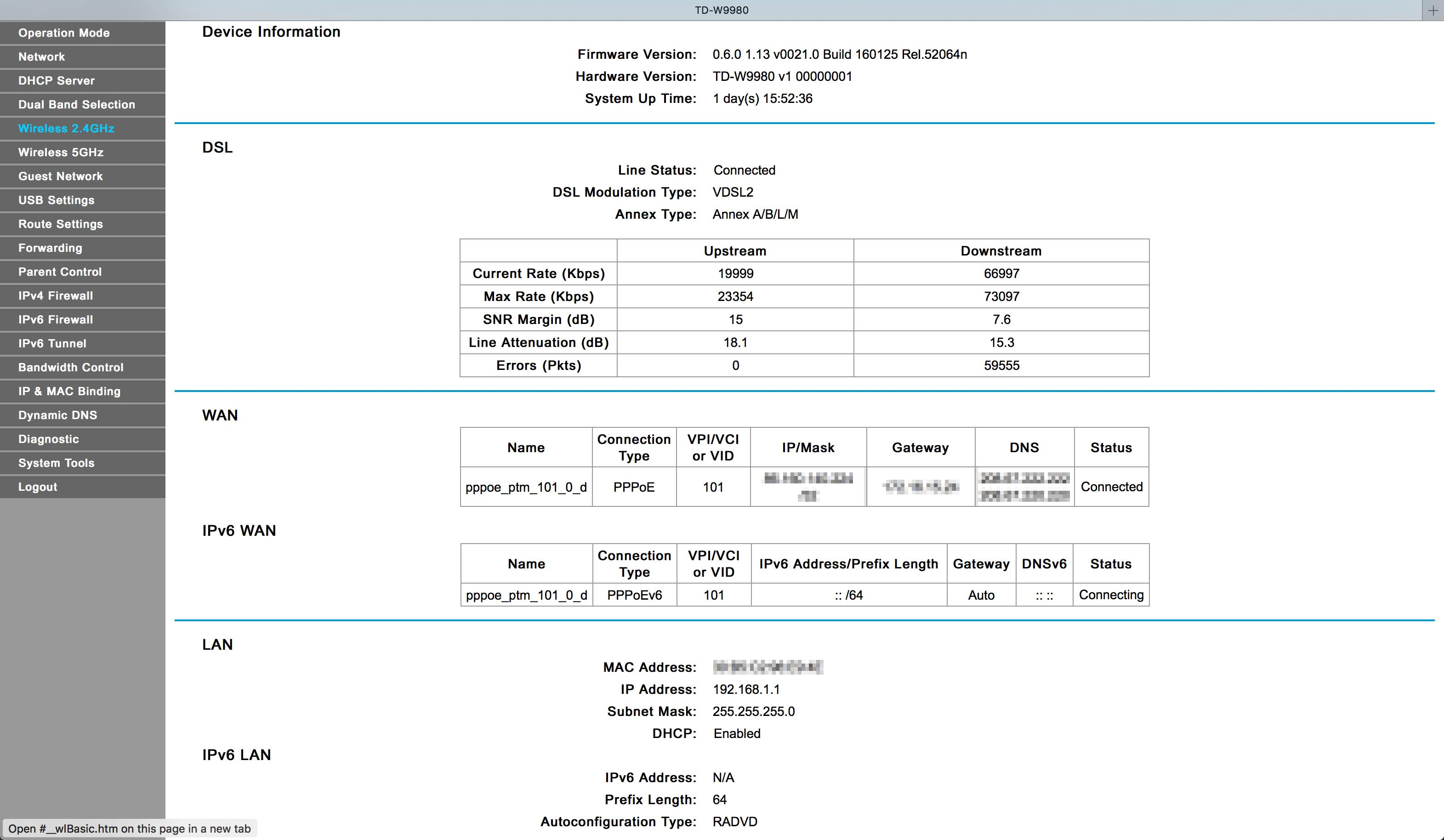 Solved: IPv6 on Tp-Link TD-W9980 - Page 8 - BT Community
