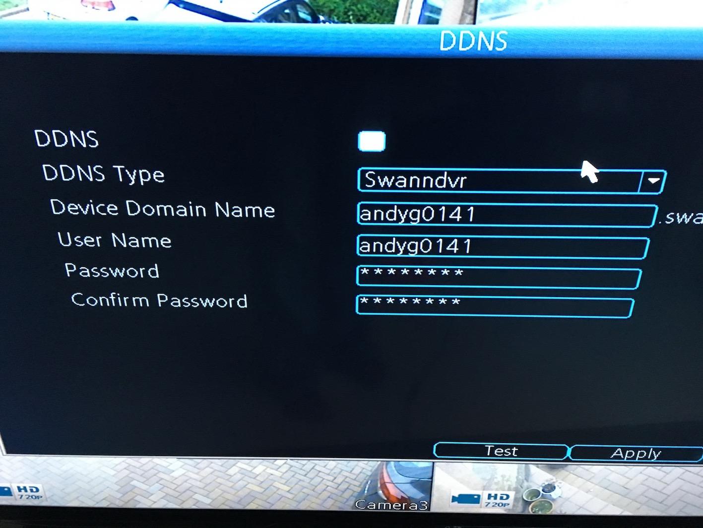 Home Hub 5 & Swann CCTV DDNS - BT Community