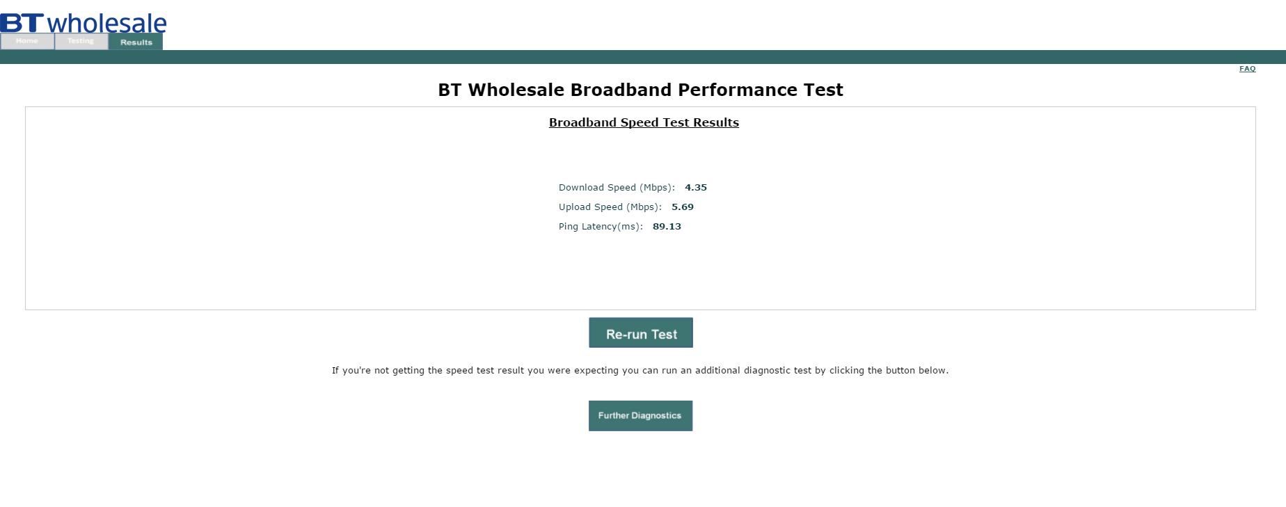 Wholesale Speedtest