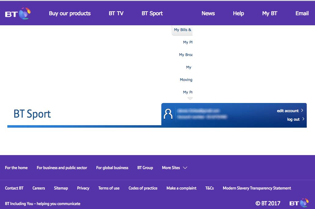 Solved: BT Sport TV app - Managing devices - BT Community
