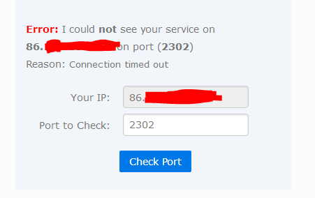 Port Forwarding not opening ports / BT Smart Hub /    - BT Community