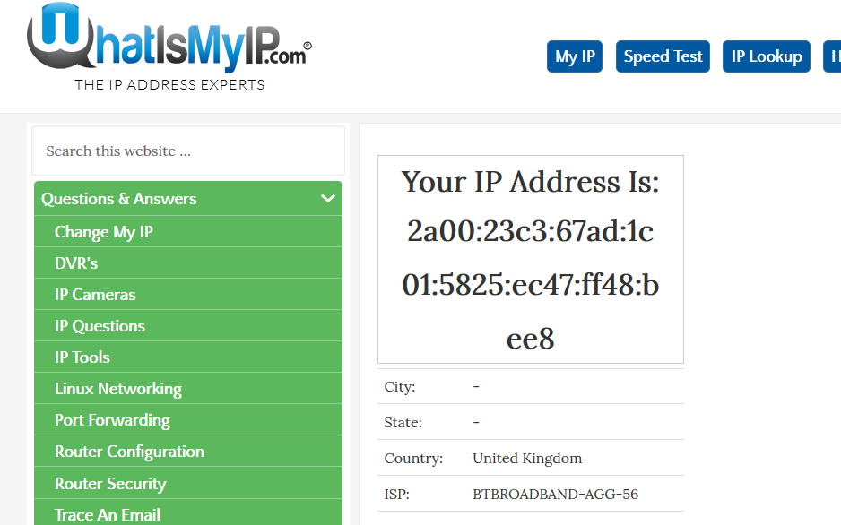Solved: Disable IPv6 on Home Hub 6 - BT Community