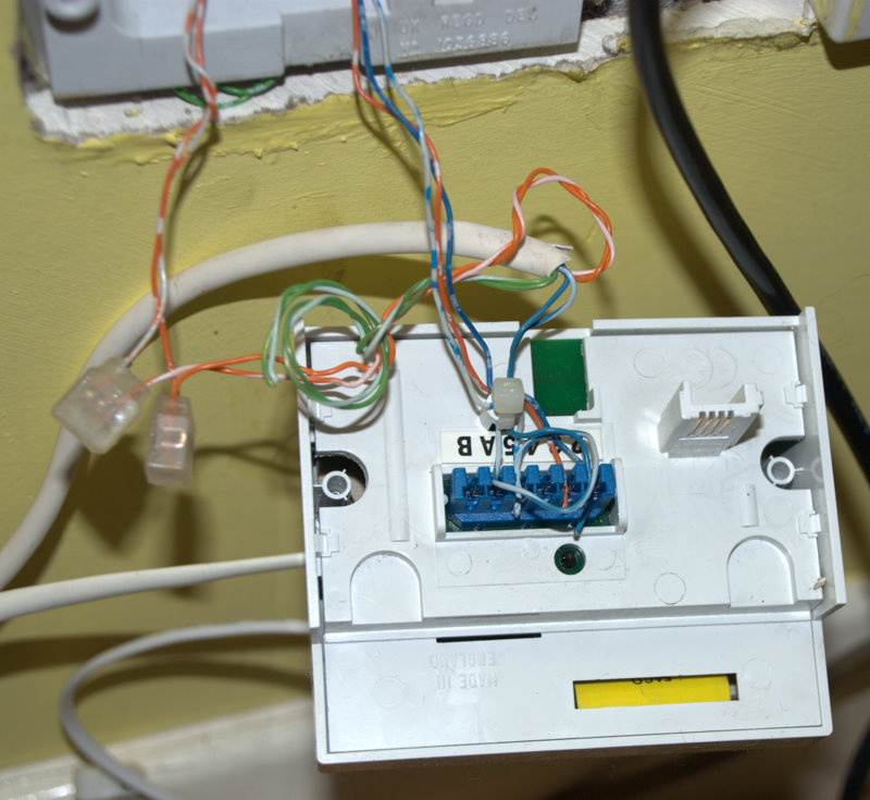 Double Phone Socket Wiring Diagram : I have two telephone lines numbers at home but