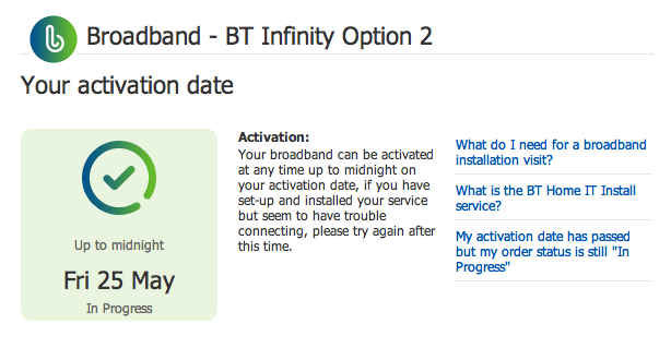 Bt infinity deals for existing customers