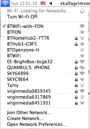 BTWiFi Network services
