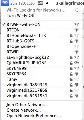 BT WiFi Network