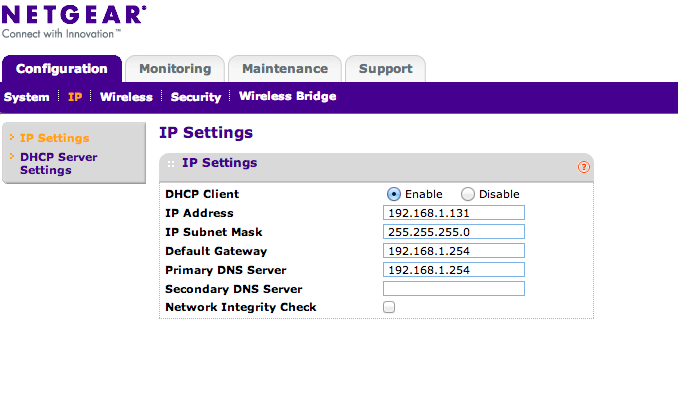 how to connect netgear hub