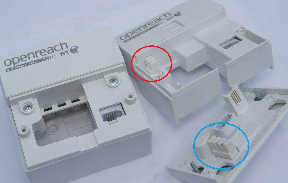 Removing the front of the master socket - broadban... - BT Community