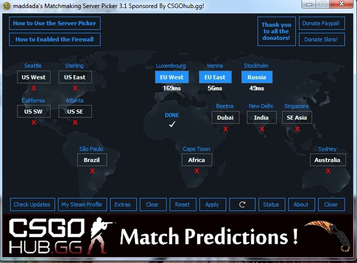 cs go matchmaking server picker 2018