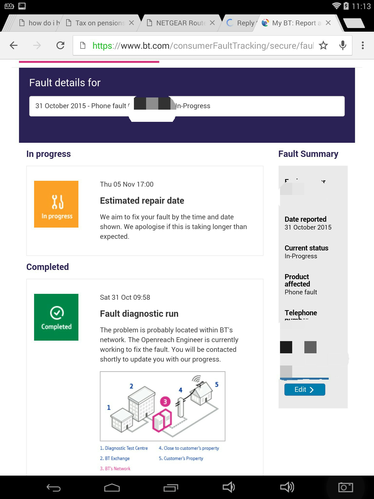 From Bt Suggests That I Can Create A Call Divert When Go To The Page With My Fault Though Don T See Any Link Where