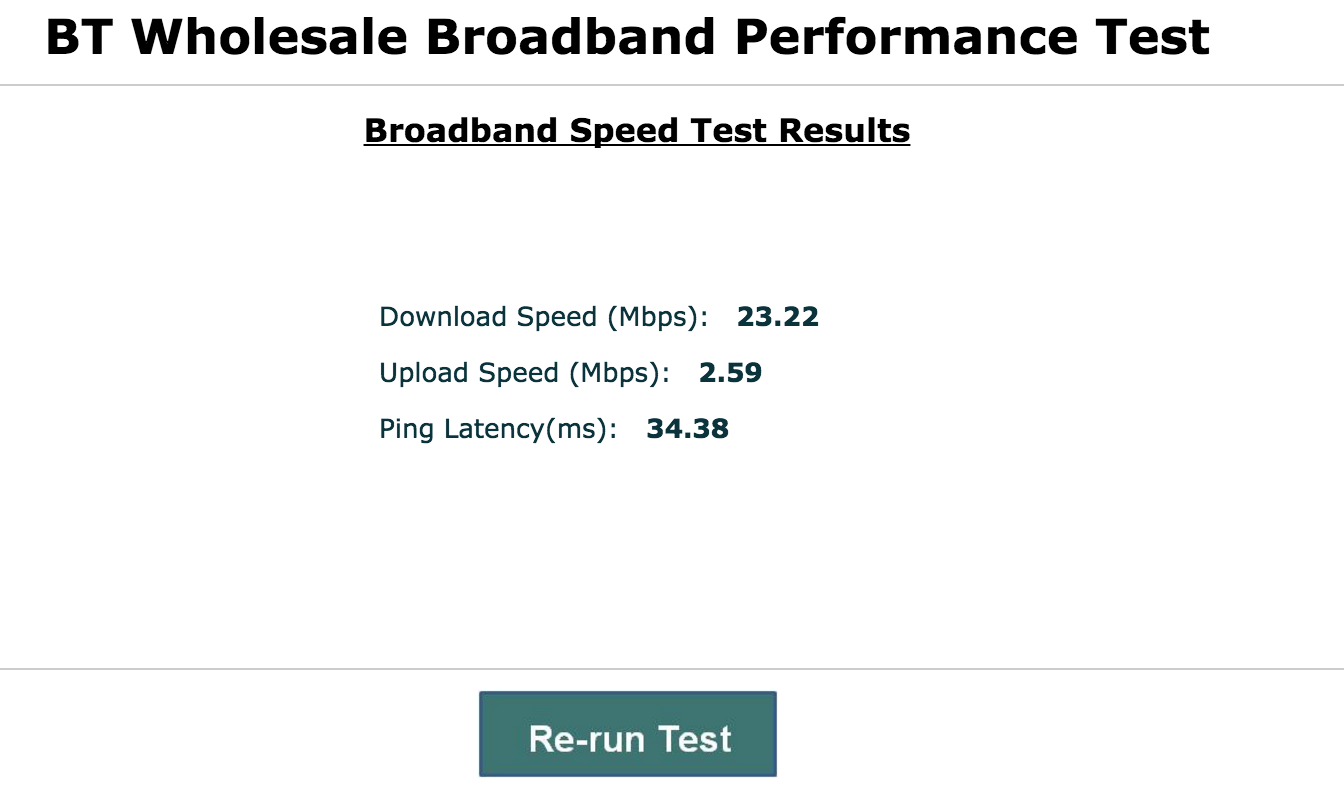 how to know if router is giving slow speeds