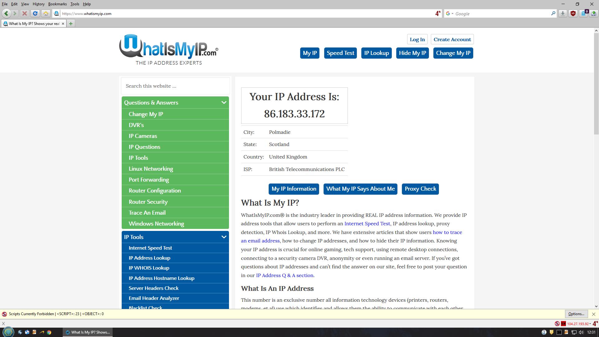 Disable Ipv Bt Home Hub
