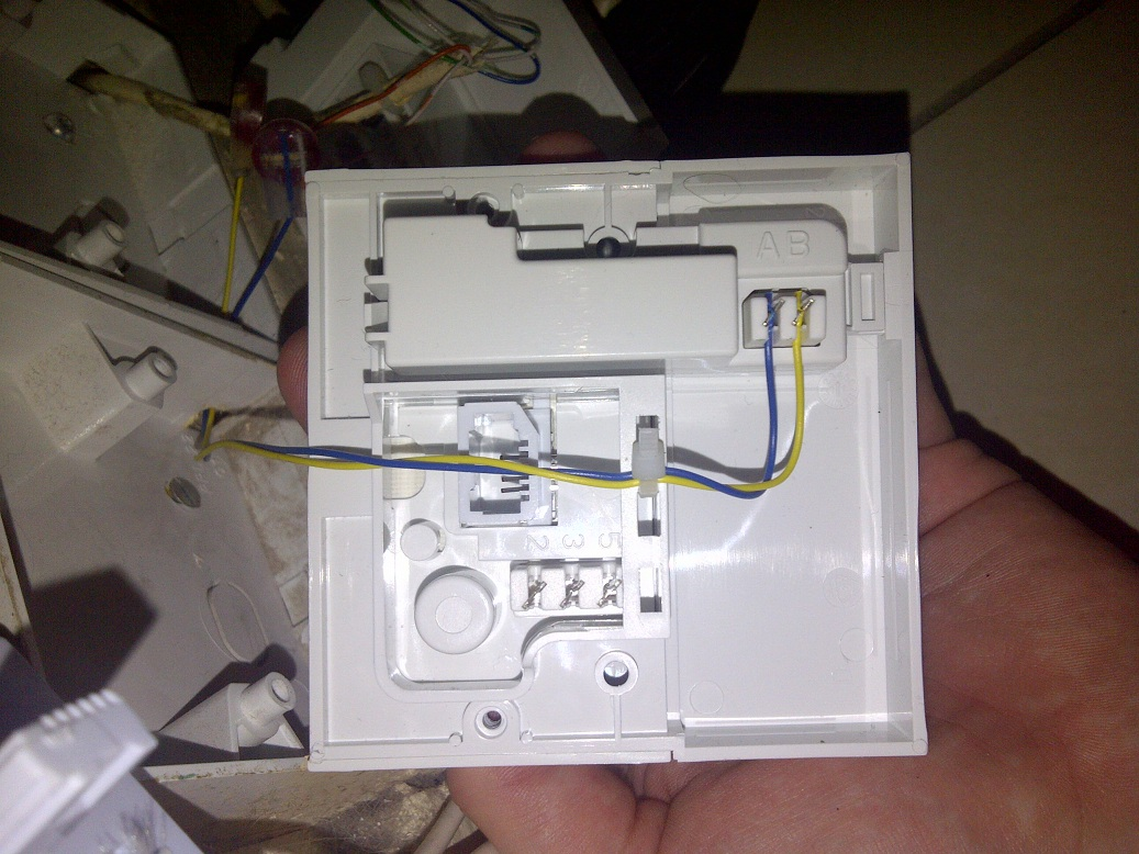 How To Wire A Btopenreach Nte5 Socket Wiring An New Bt Installation And Problems With Service